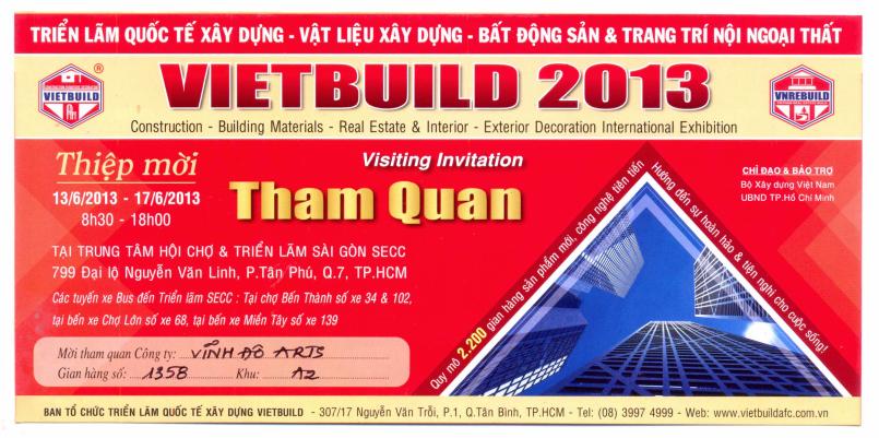 Vietbuild2013 Www Vinhdo Arts Com